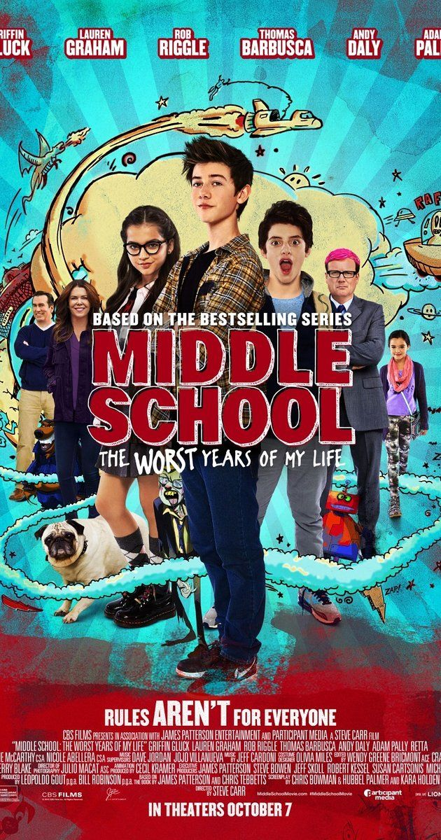 Directed by Steve Carr.  With Lauren Graham, Rob Riggle, Thomas Barbusca, Griffin Gluck. Imaginative quiet teenager Rafe Katchadorian is tired of his middle school's obsession with the rules at the expense of any and all creativity. Desperate to shake things up, Rafe and his best friends have come up with a plan: break every single rule in the school and let the students run wild. This is a fun movie for the whole family.