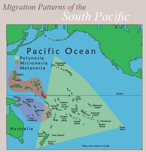Best Oceania ContinentsItineraries Images On Pinterest - Polynesian migration map oceania