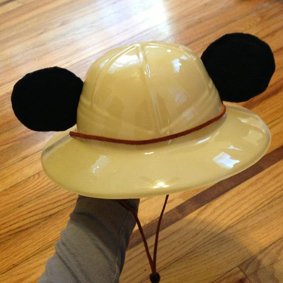 Mickey Mouse Safari Jungle Child Hat by YummySweetPerfection
