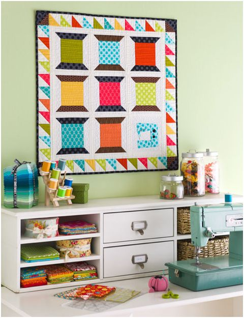 Cute sewing quilt