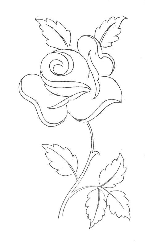 Line Art Flower Stencil Designs : Best coloring pages images on pinterest