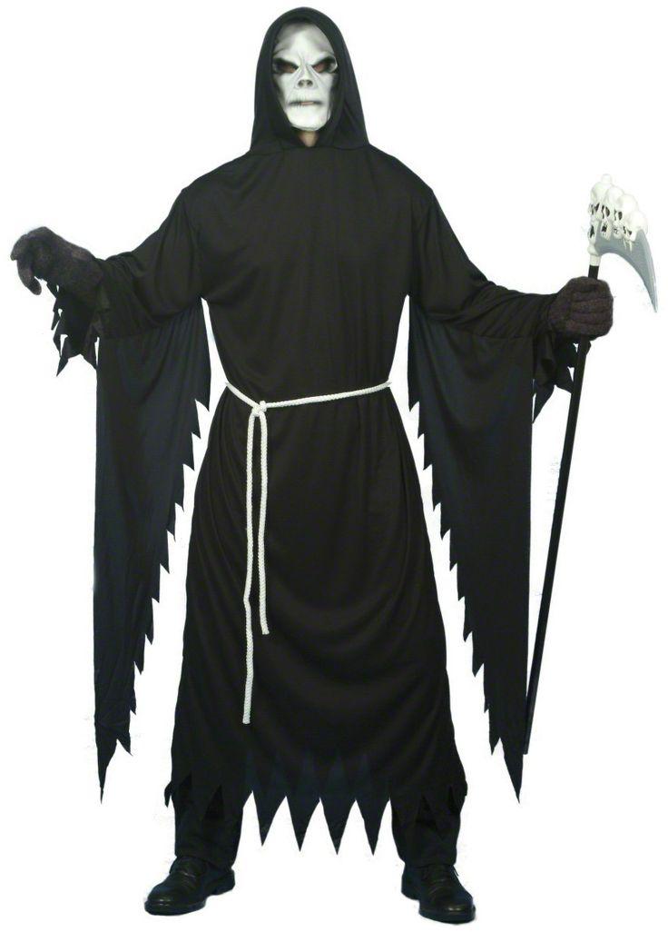 Verkleedkostuum Magere Hein voor volwassenen Halloween outfit online beschikbaar bij Vegaoo.nl aan de meest goedkope prijs;