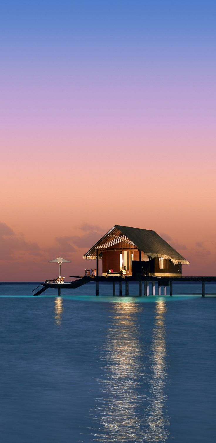 Maldives- Tropical Huts over the Water