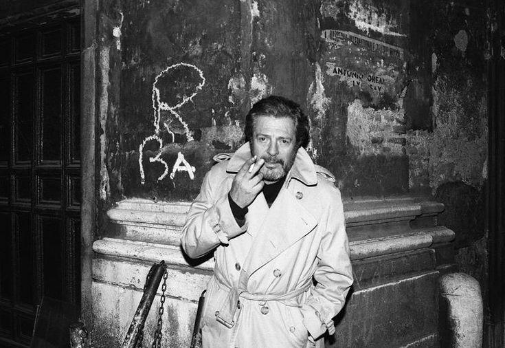 Marcello Mastroianni by Harry Benson