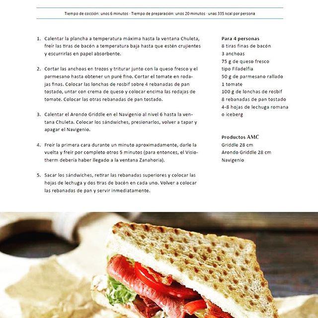 ¡Receta para irnos de picnic!Sándwich César con rosbif