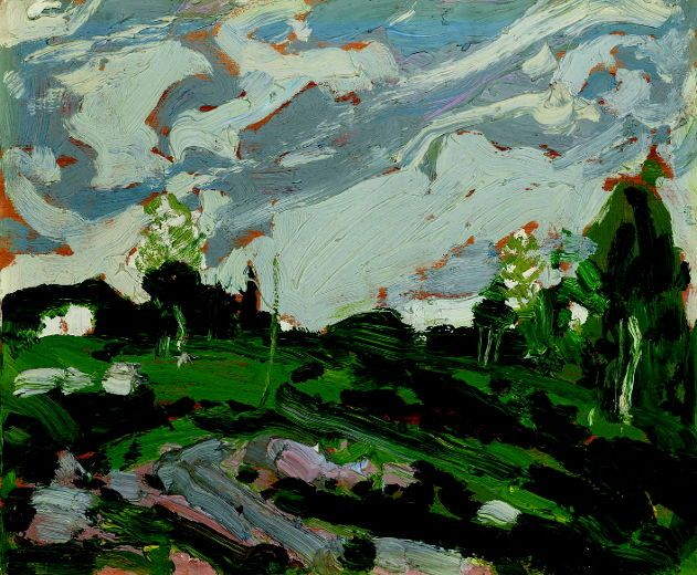 The Tom Thomson painting After The Storm, which may be the last painting the artist did before he died in 1917. After The Storm will be for sale at the Heffel auction of Fine Canadian Art in Toronto on Nov. 26, 2015, and will be on display at the Heffel Gallery in Vancouver from Oct. 31 to Nov. 3. The pre-auction estimate is $500,000 to $700,000. (Handout Photo)