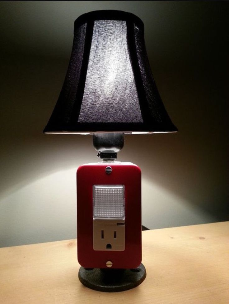 NEW Table lamp & Night light combination por BossLamps en Etsy - 330 Best USB Charger Lamps Images On Pinterest Charger, Desk