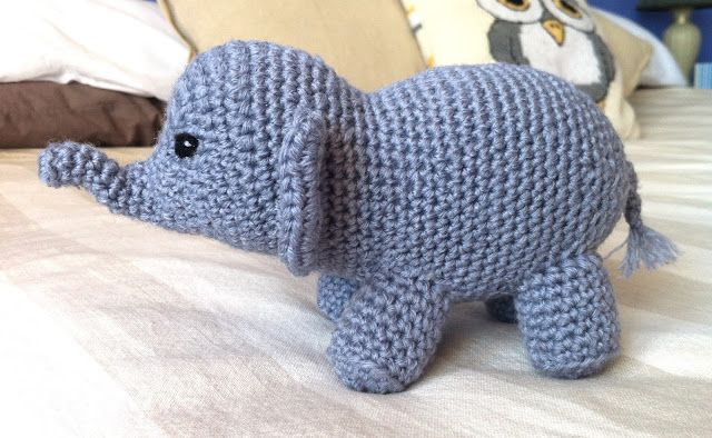 Shannon's Crafts and other stuff: Crochet elephant