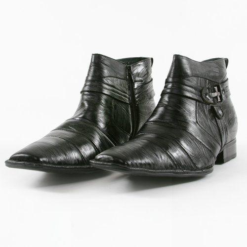 Delli Aldo Italian Styled Men Dress Boots Black Size 13 - http://authenticboots.com/delli-aldo-italian-styled-men-dress-boots-black-size-13/