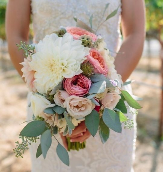 Bridal Bouquets With Cabbage Roses : Ideas about cabbage rose bouquet on