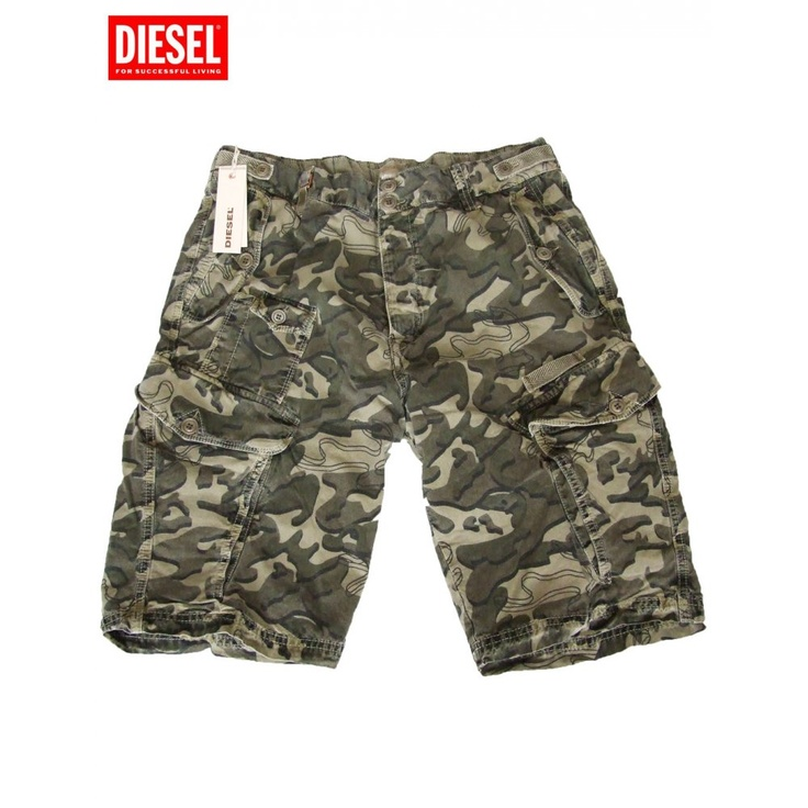 Diesel Shorts Sislargo-Sho Green Camo