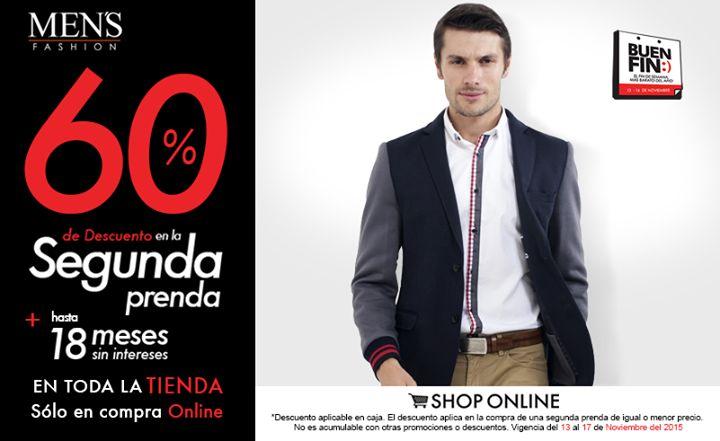 La #tendencia para este #otoño es el #blazer con complementos en su composición. #BuenFin  Cómpralo aquí: www.mensfashion.com.mx
