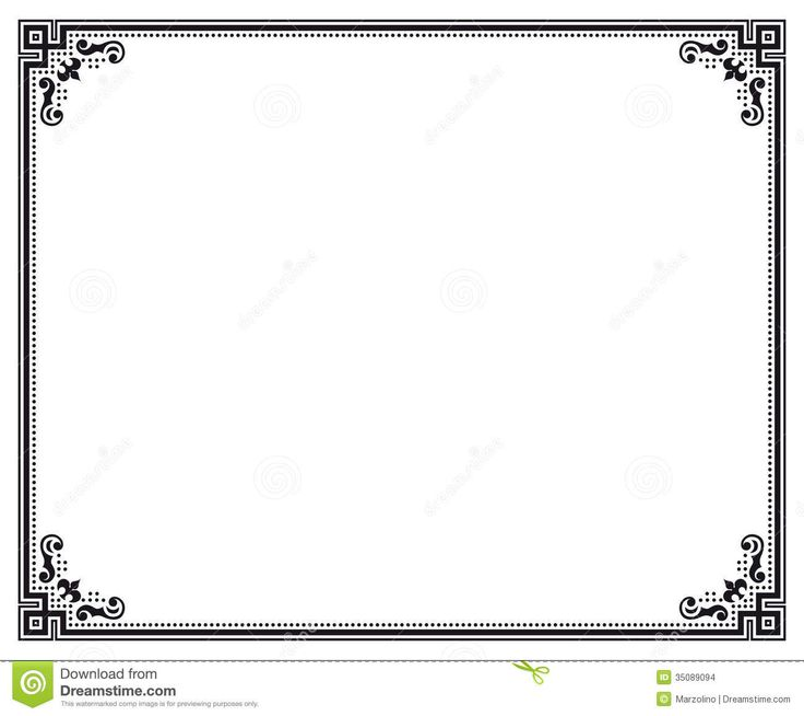simple border jpg Google Search vector