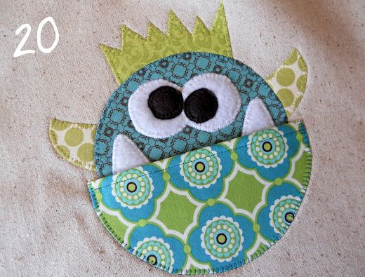 monster sewing and lots of other cute sewing crafts on this blog