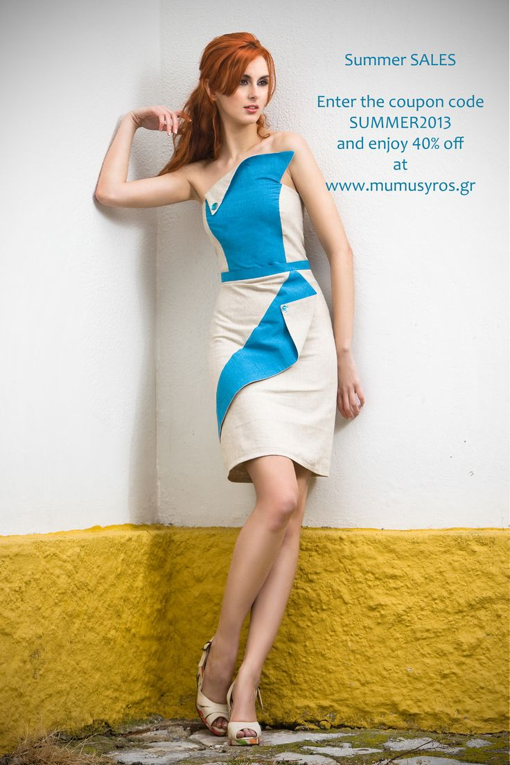 Win 40% when buying your environmental friendly dress!