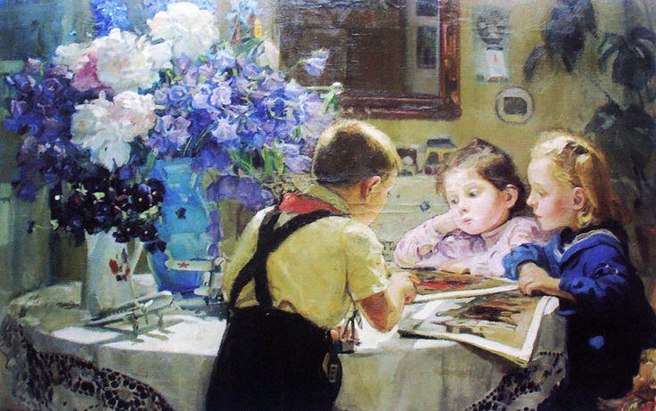 Мелихов Г.С. :: Дети ::  1952 год,