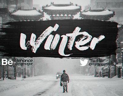 "Check out new work on my @Behance portfolio: ""winter twitter banner"" http://be.net/gallery/46469347/winter-twitter-banner"