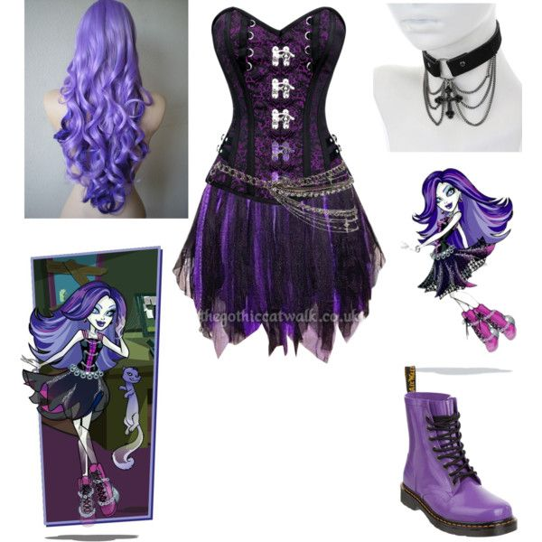 spectra vondergeist - Monster High - Cosplay. by shadow-cheshire on Polyvore