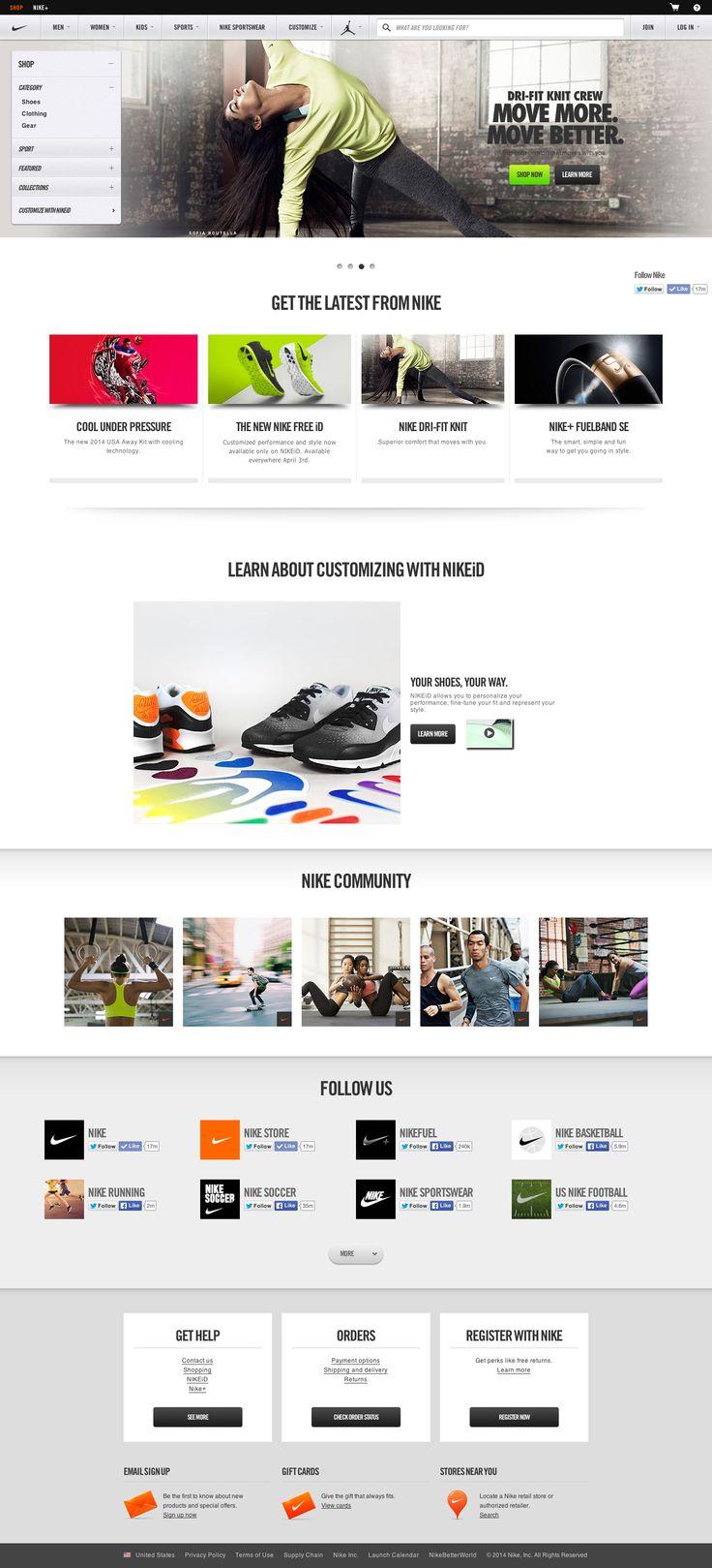 Homepage: Nike