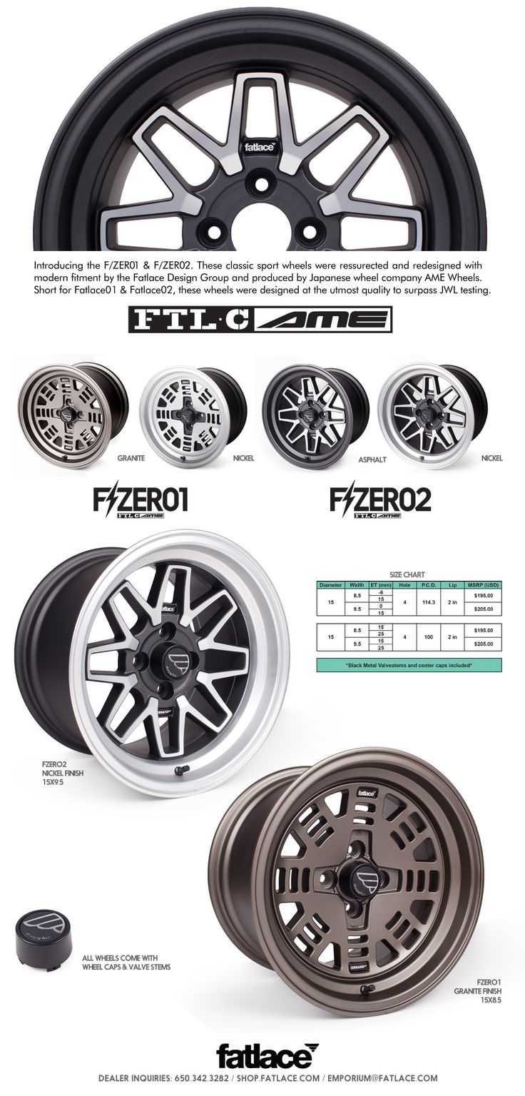 By fatlace produced by ame wheels fatlace since 1999