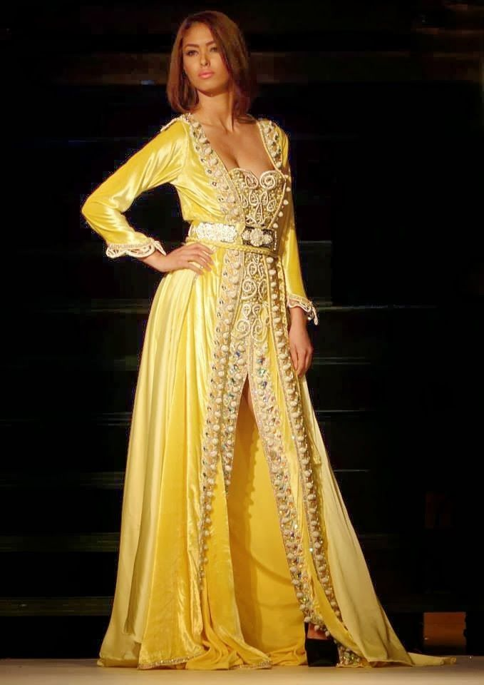 17 best images about moroccan takchita on pinterest for Caftan avec satin de chaise