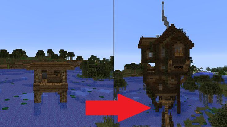 Let S Transform A Minecraft Witch Hut Minecraft