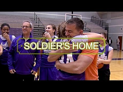 SOLDIER SURPRISE Sister with tear jerking reunion after 6 years away