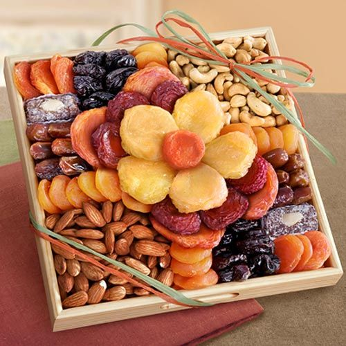 Flora Dried Fruit and Nut Tray $46.95