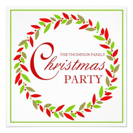 christmas invite maker