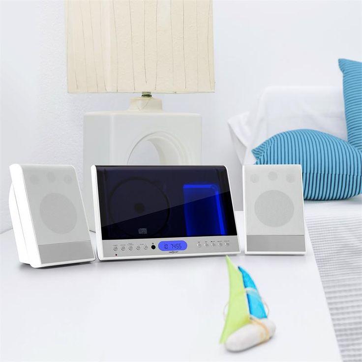Inspirational oneConcept Vertical Stereoanlage CD USB SD AUX wei g nstig kaufen