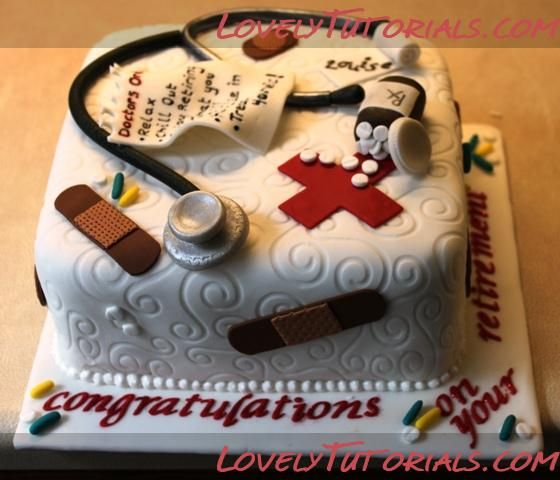 Торты для врачей Doctor Themed Cakes Мастер классы по