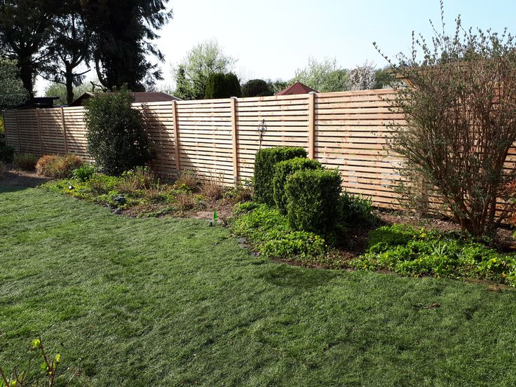 Sichtschutzzaun Rhombuszaun Von Greenfairway E K Gartenpflege Garten Haus Und Garten