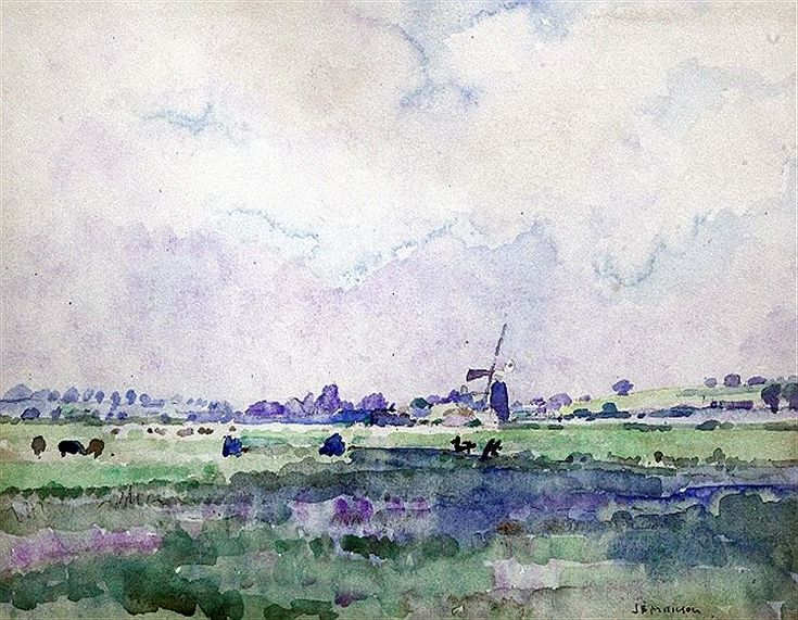 Windmill near Rye (James Bolivar Manson)