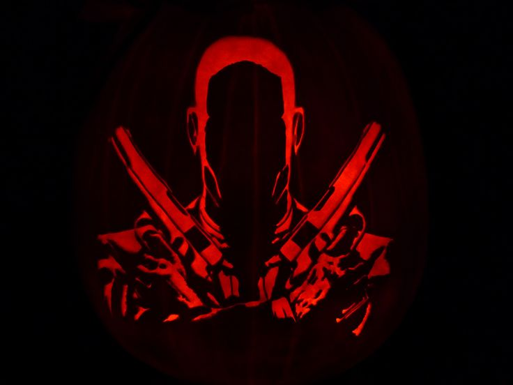 Hitman Pumpkin by ceemdee