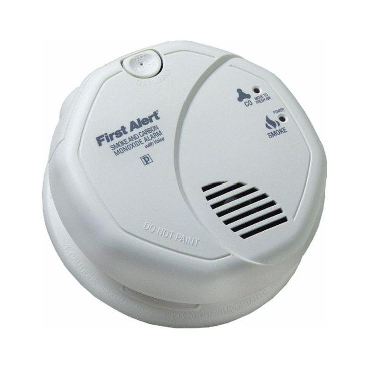 First Alert SC7010BV Combination Smoke & Carbon Monoxide Alarm Photoelectric #ad