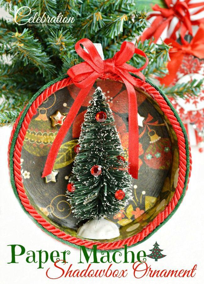 46 besten Paper mache crafts Bilder auf Pinterest | Weihnachten ...