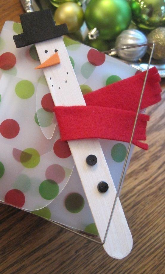 Teacher Christmas Ornamets Craft