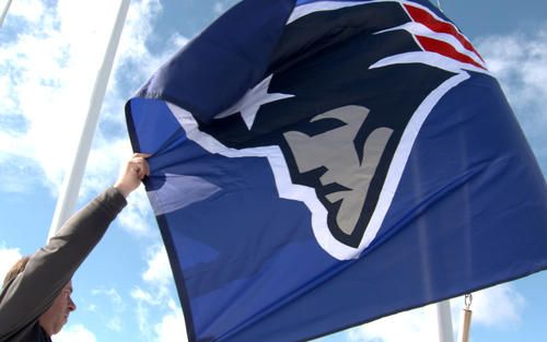 The Patriots flag was raised at the NFL Films headquarters in New Jersey this week as part of an annual celebration to honor the Super Bowl Champion. Check it out on this edition of Toyota's Patriots Today.