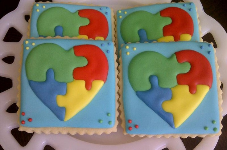 Cake Decorated By Girl With Autism : 50 best images about Autism cupcake cakes on Pinterest