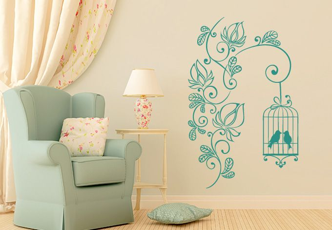655 Best Images About Wall Stickers & Decor On Pinterest