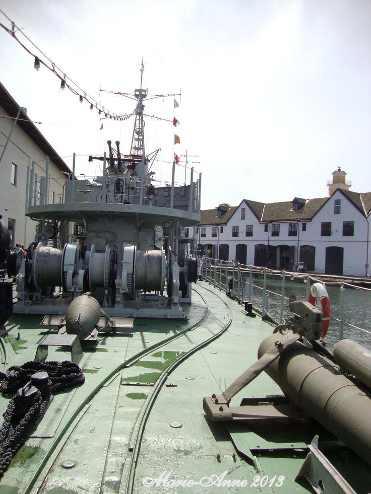 Karlskrona Marinmuseum  Bild från marinmuseet