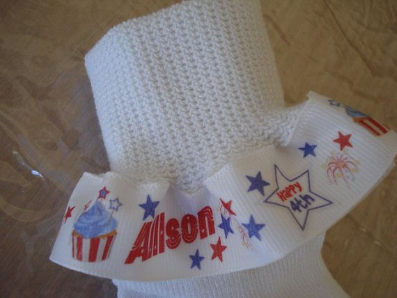 4th of July Independence Day American Holiday by mymommymadeit, $8.00