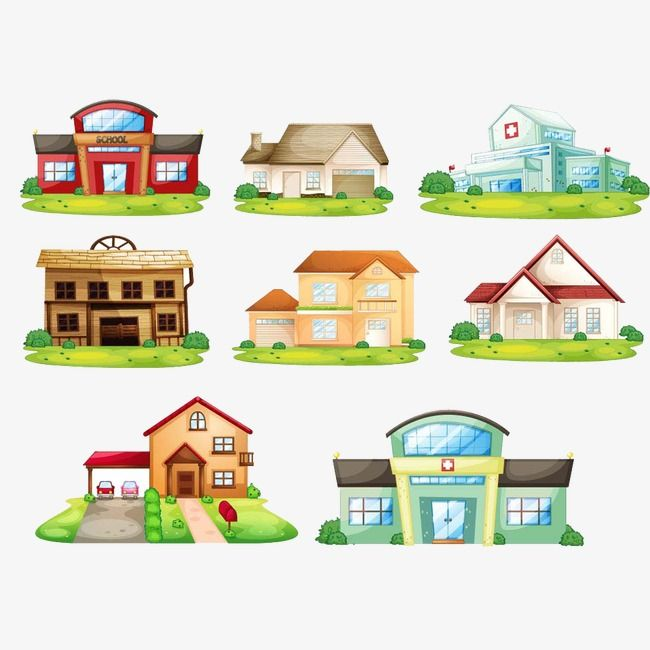 المباني المدرسية Vector Free Free Vector Images Free Icons