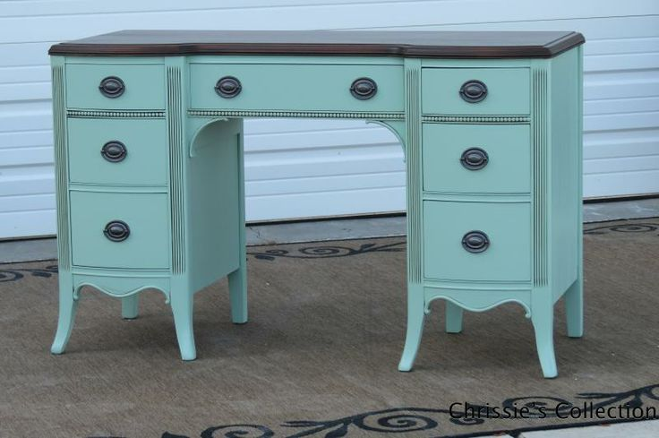 17 Best images about Painted Desks on Pinterest