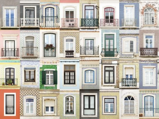 The Windows Of Western Europe  Sesimbra, Portugal  Portuguese photographer André Gonçalves captures photographs of beautiful European window architecture. By collecting a series of images from these old and glamour cities, mainly Portugal, Gonçalves reveals the singular beauty in color and shape of overlooked structures.