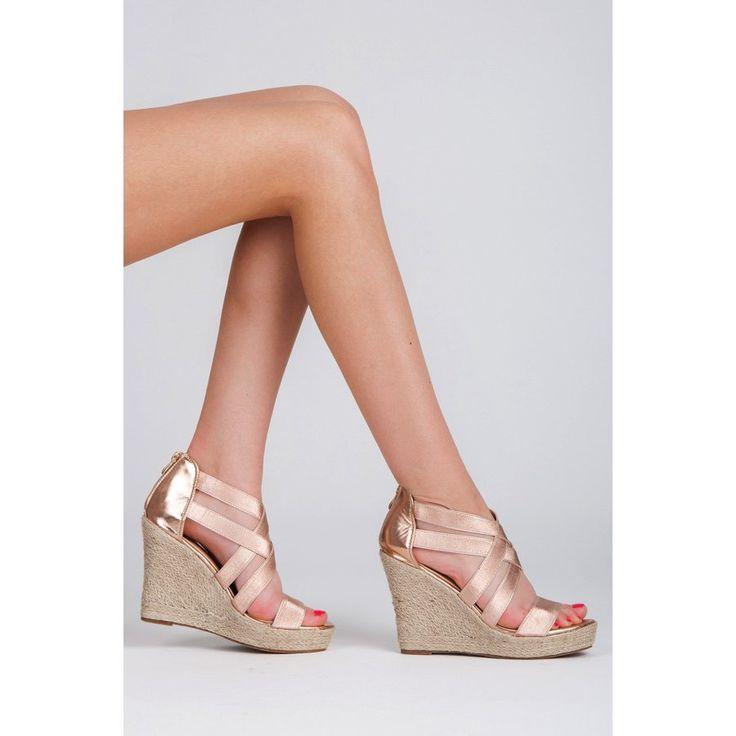 Metalické sandále 2017-22L.P