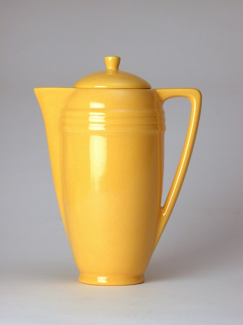 Bauer Pottery Coffee Pot in Bauer Yellow - http://bauerpottery.com/