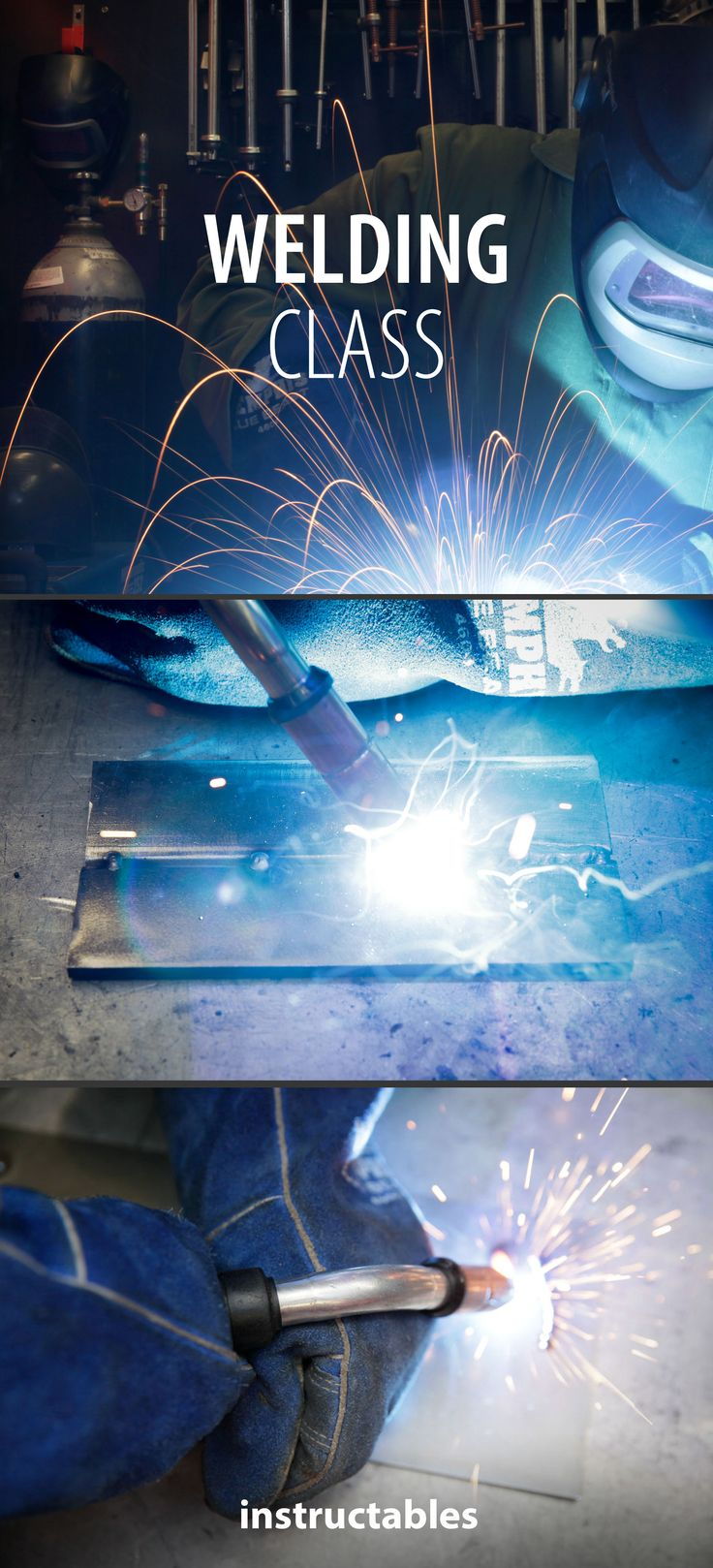 This class is designed for those who are completely new to welding but will also give others with experience some ideas and tips about how to become a more skilled welder that is ready to push their craft.