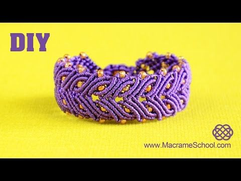 Laurel Leaf Bracelet Tutorial - YouTube