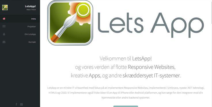 Lets App's hjemmeside